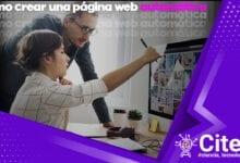 Cómo crear una página web automática desde cero portada de artículo