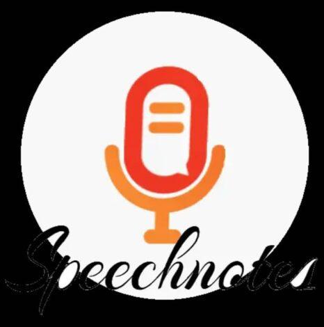 Speechnotes, app para transformar voz a texto