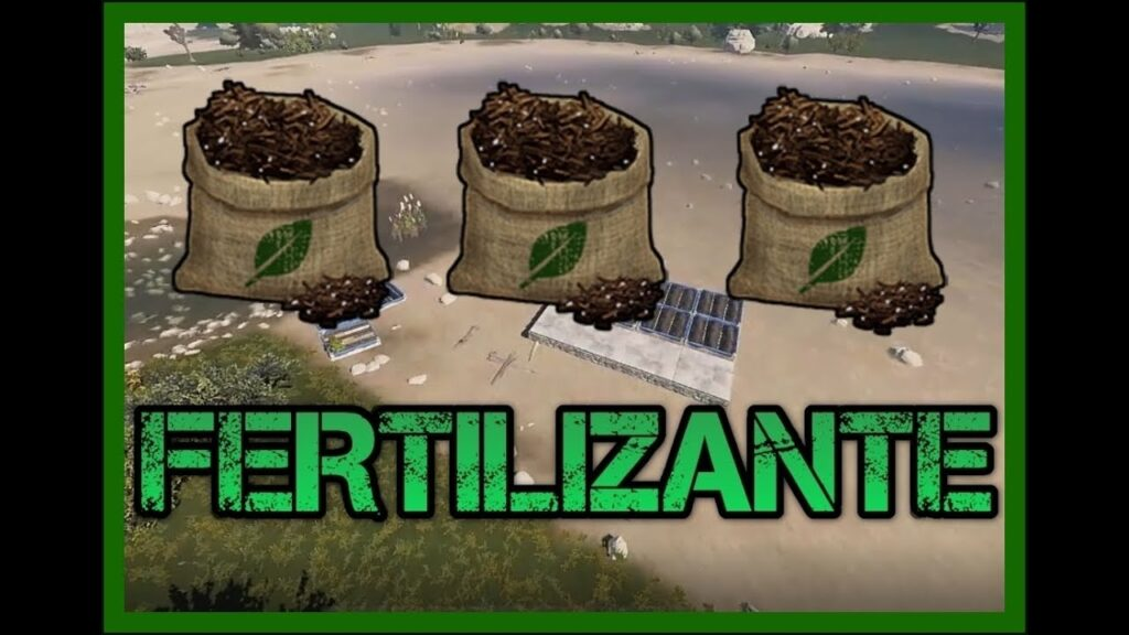 Como fertilizar en Rust