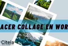 Cómo hacer un collage en word portada de artículo