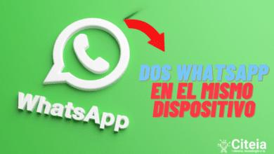 Tener 2 WhatsApp en el mismo dispositivo