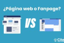 página web vs fanpage